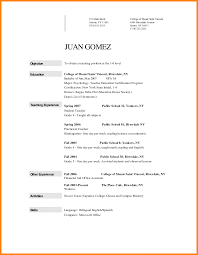 sle resume for law professors college teacher resume sle teaching archaicawful objectives for