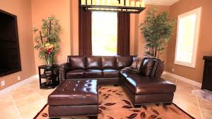 venezia leather sectional and ottoman encore top grain leather sectional and ottoman video gallery