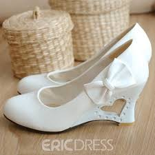 wedding shoes embellished ericdress bowknot embellished evening wedding shoes 10919088