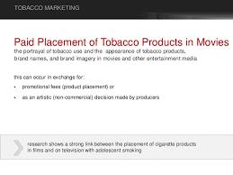 tobacco marketing types of advertisement u0026 advertising expeditures