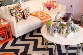 jonathan adler notting hill store sofa coffee table cushions