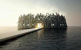 northern lights sauna parts this floating sauna hotel offers amazing views of the northern