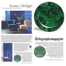 period homes interiors magazine malachite plate feature in telegraph and period homes interiors