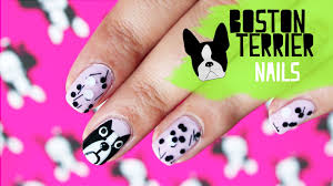 how to draw a boston terrier on your nails fashion trend 2013
