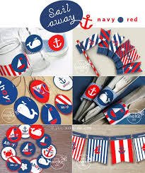 Nautical Theme Baby Shower Decorations - party supplies for nautical baby shower nautical baby shower