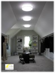 a beautiful walk in closet with solatube daylighting systems