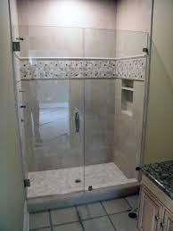Clean Shower Glass Doors Shower No Door Walk Inower Designs Etched Glass Designsno Design