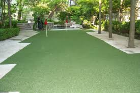 artificial putting green golf turf toronto design turf