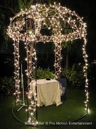 wedding arch lights falkner wedding lighting for bill wedding lighting