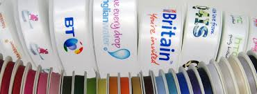 printed ribbons printed ribbon uk printed ribbons personalised ribbons and logo