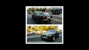 roll royce hyderabad rolls royce ghost jaguar f type hyderabad india 2017 youtube