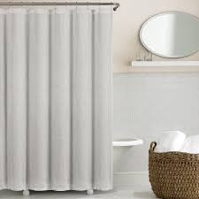 Accordion Curtain Washed Belgian Linen Shower Curtains By Echelon Linenplace