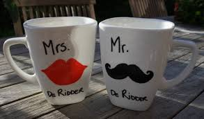 his and hers mug diy a his hers mug so called sharpie mug road after road