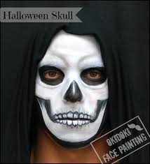 Scary Skeleton Face Painting Halloween by Halloween Face Makeup Ideas Festival Collections 117 Best Autumn