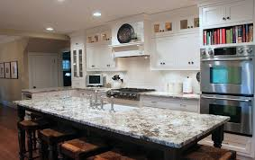 White Kitchen Island With Stools by Interior Delicatus White Granite For Large Kitchen Island And