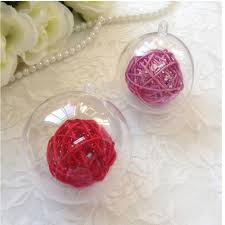 compare prices on clear christmas decorations ball online