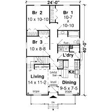 farmhouse style house plan 3 beds 1 baths 1291 sq ft plan 312