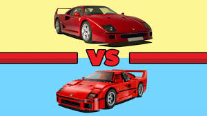 lego ferrari f40 are lego cars more valuable than real cars the drive