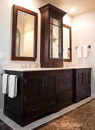 Bathroom Tower Cabinet Magnificent Brilliant Bathroom Tower Cabinet Witching Small