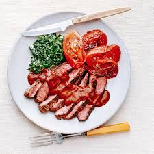 sauce boursin cuisine sliced steaks with porcini sauce boursin creamed spinach