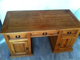 bureau en bois a vendre bureau en bois a vendre bureau massif bureau massif with bureau