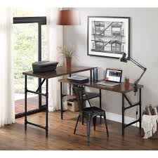 industrial birch veneer sit stand desk free shipping today