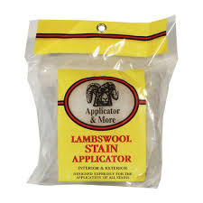 applicator and more 5 in lambswool stain applicator 44600 the