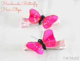 butterfly hair hair for simple diy butterfly accessories