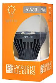led uv light bulbs light itup blacklight blue led uv light bulb comes with e26