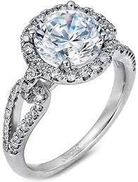 simon g engagement rings simon g split shank pave engagement ring sg lp2027