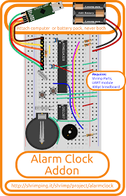 wiring the alarm clock