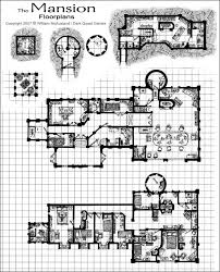 Floor Plan Castle Medieval Castle Floor Plans Medieval Fantasy Mansion Floor Plan