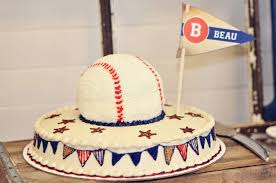 Baseball Baby Shower Cake - vintage baseball baby shower party ideas photo 14 of 20 catch