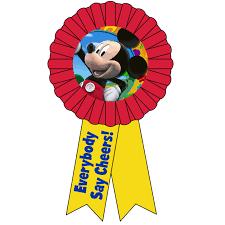 mickey ribbon disney mickey mouse award ribbon 72860 s 1st birthday