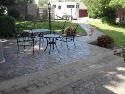 restuccia excavating stamped concrete projects