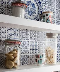 top 15 patchwork tile backsplash designs for kitchen view in gallery batik patchwork tile kitchen backsplash blue jpg