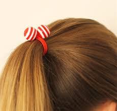 hair bobbles hair ties elastic hair ties funky macaroons retro style hair