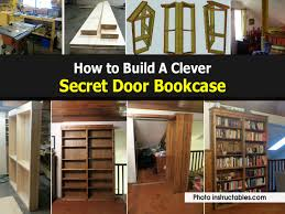 Bookcase With Doors Plans by Make A Case For Privacy Best 20 Bookcase Door Ideas On Pinterest