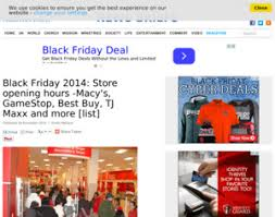 tj maxx gamestop black friday 2014 store opening hours macy s