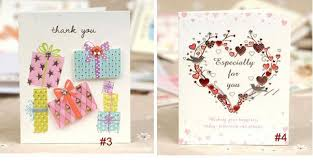 7 5x 9cm small greeting card with envelope mix designs