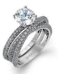 simon g engagement rings simon g engagement ring and wedding band set mr1577 massoyan