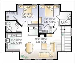 one story garage apartment floor plans floor plans aflfpw05604 2 story craftsman home with 2 bedrooms 2