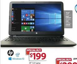 best hp laptop deals black friday 2016 hp black 15 6