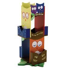 Sunny Safari Bookcase Levels Of Discovery Owls Revolving 30