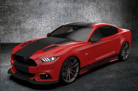 Black Mustang With Red Stripes Raceskinz Buypoint