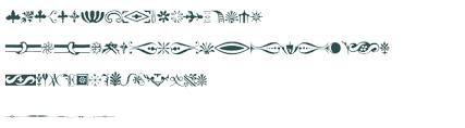 bodoni classic ornaments font free truetype