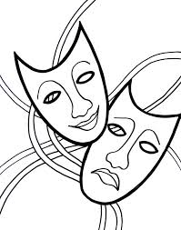 mardi gras mask coloring pages free coloringstar