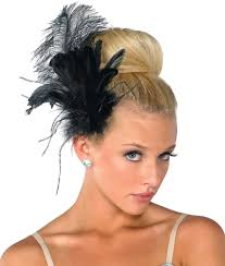 feather hair accessories a wish come true h67 feather hair clip