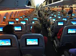 Economy Comfort Class Curacao Amsterdam On Tui Boeing 787 Dreamliner In Premium