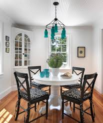 corner hall table with corner seating kitchen transitional and